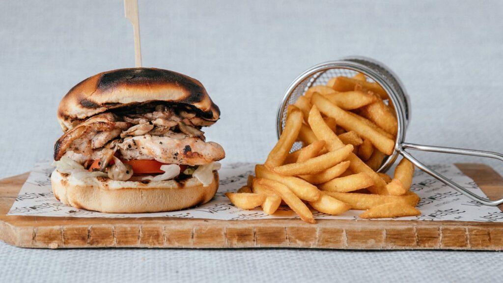 Westreme Asian Chicken Burger